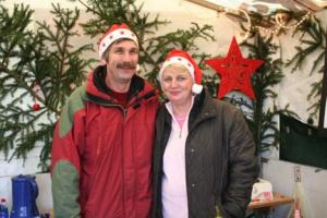 2007 - Auf dem Adventsmarkt in Borchen